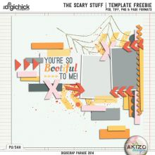 DigiScrap Parade - The Scary Stuff