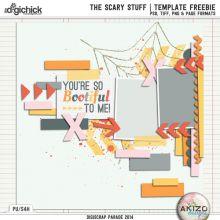 DigiScrap Parade - The Scary Stuff