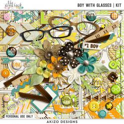 New + Boy With Glasses | Collection + FREE with Purchase