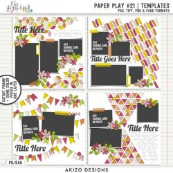 New - Paper Play 21 | Templates