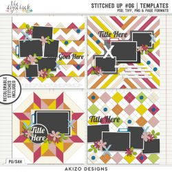 New - Stitched Up 06 | Templates