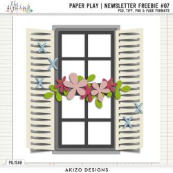 Newsletter Freebie - Paper Play 07