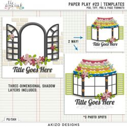 New - Paper Play 23 | Templates