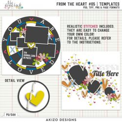 New - From The Heart 05 | Templates