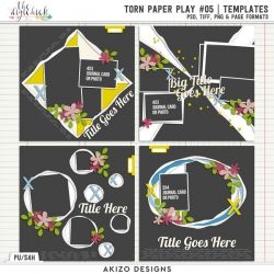 New - Torn Paper Play 05 | Templates