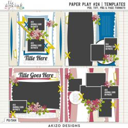 New - Paper Play 24 | Templates