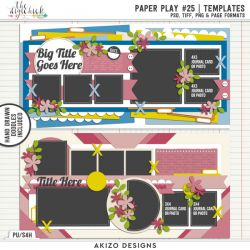 New - Paper Play 25 | Templates