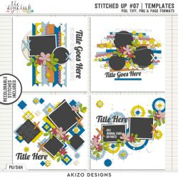 New - Stitched Up 07 | Templates