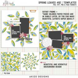 New - Spring Leaves 02 | Templates