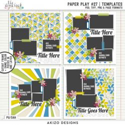 New - Paper Play 27 | Templates