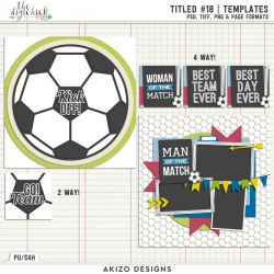New - Titled 18 | Templates - Soccer