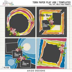 New - Torn Paper Play 06 | Templates