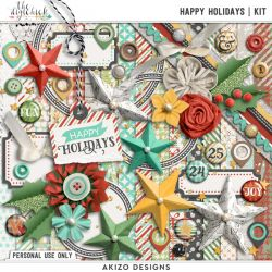 New + Happy Holidays   Collection + FREE with Purchase