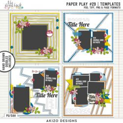 Hello 2018 - Paper Play 29 | Templates
