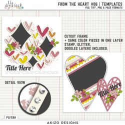 New - From The Heart 06 | Templates
