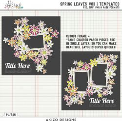 New - Spring Leaves 03 | Templates