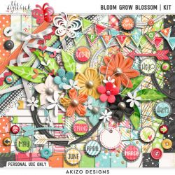 New + Bloom Grow Blossom | Collection + FREE with Purchase
