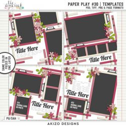 New - Paper Play 30 | Templates