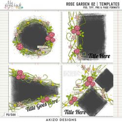 New - Rose Garden 02 | Templates