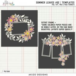 New - Summer Leaves 02 | Templates