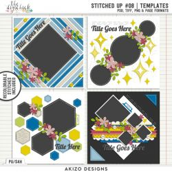 New - Stitched Up 08 | Templates