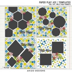 New - Paper Play 31 | Templates