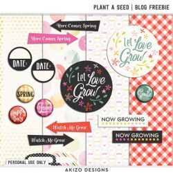 DigiScrap Parade - Plant A Seed