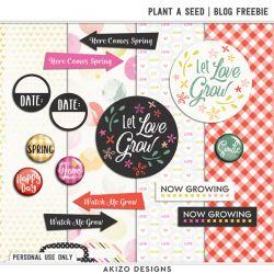 DigiScrap Parade - Plant A Seed