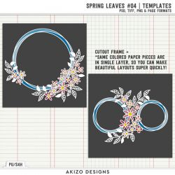 New - Spring Leaves 04 | Templates