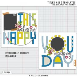 $1 Sale - Titled 29 - Rose Garden 01 | Templates
