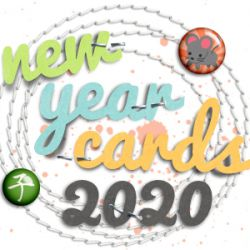 New Year Cards 2020