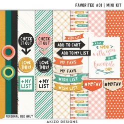 DigiScrap Parade - Favorited