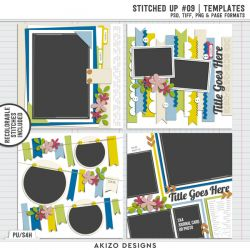 New - Stitched Up 09 | Templates