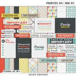 DigiScrap Parade - Priorities