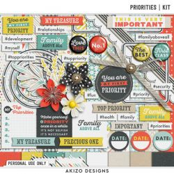 Save 62% - Priorities | Kit