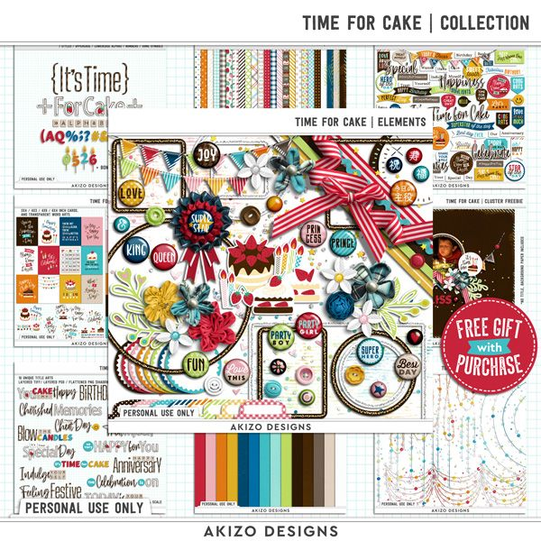 New - Time For Cake | Collection
