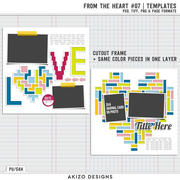 Grab Bag Revealed - From The Heart 07 | Templates