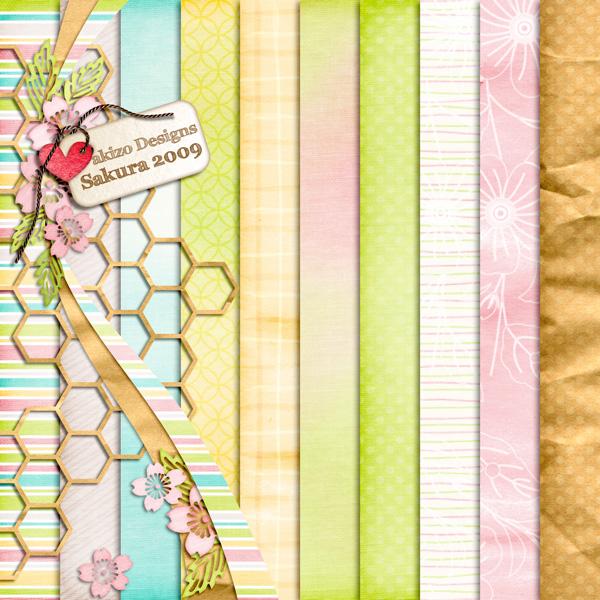 Sakura 2009 Paper Pack