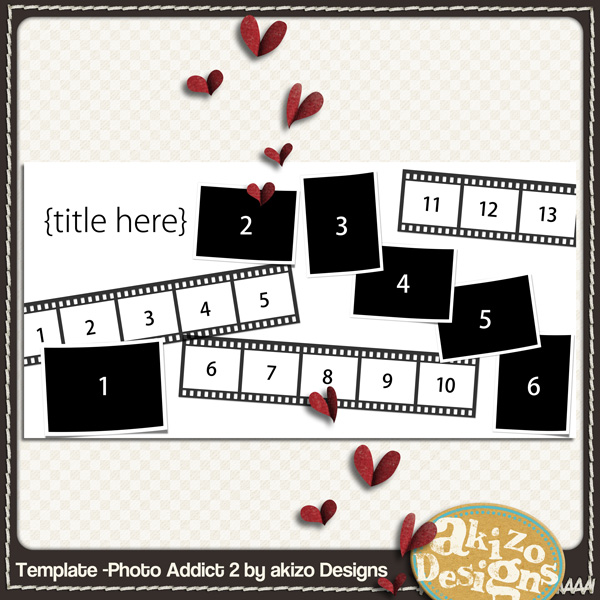 Template- Photo Addict 2