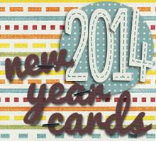 2014年・平成26年・午年の年賀状