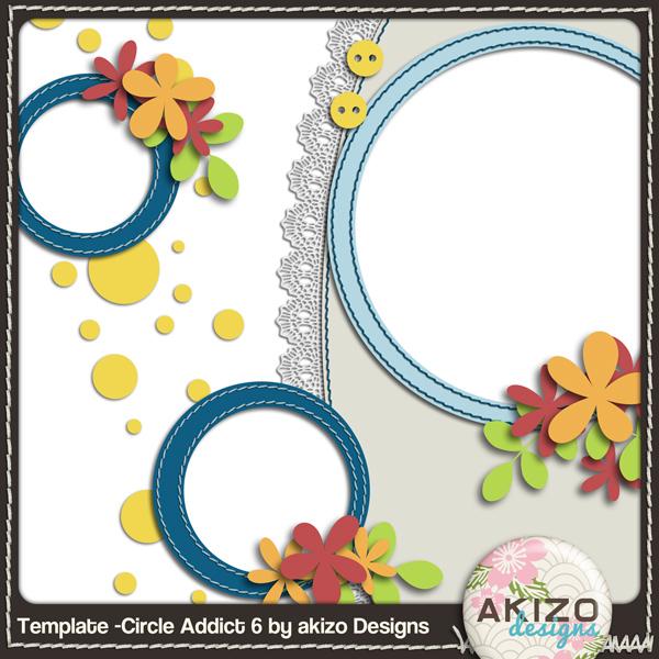 Template -Circle Addict 6