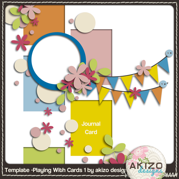 freebie - Playing With Cards 1