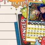 Desktop Calendar October 2013