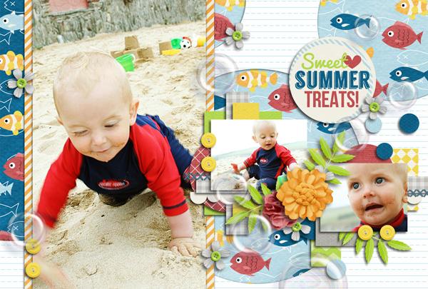 2014年 カレンダー 7-8月
