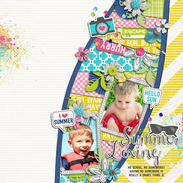 Welcome Summer Sample Layout