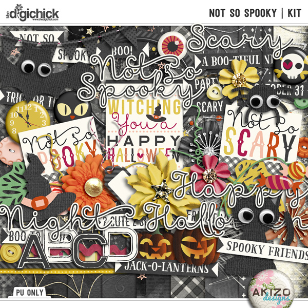 Not So Spooky | Kit by Akizo Designs