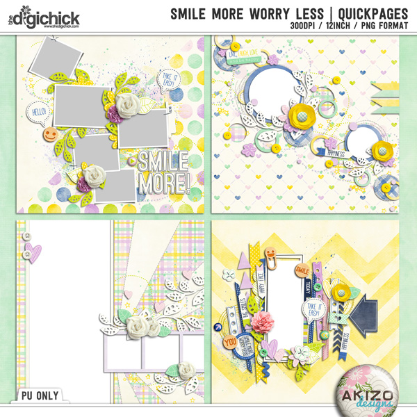 Smile More Worry Less   Quickpages