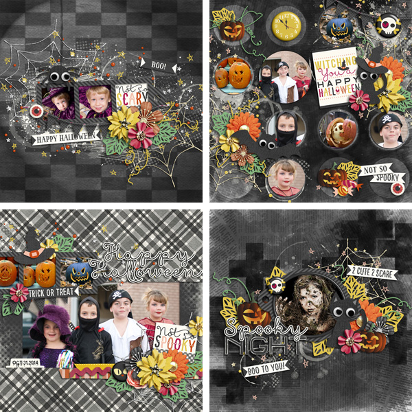 Layout Sample of Not So Spooky | Quickpage