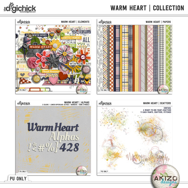 Warm Heart | Collection by Akizo Designs