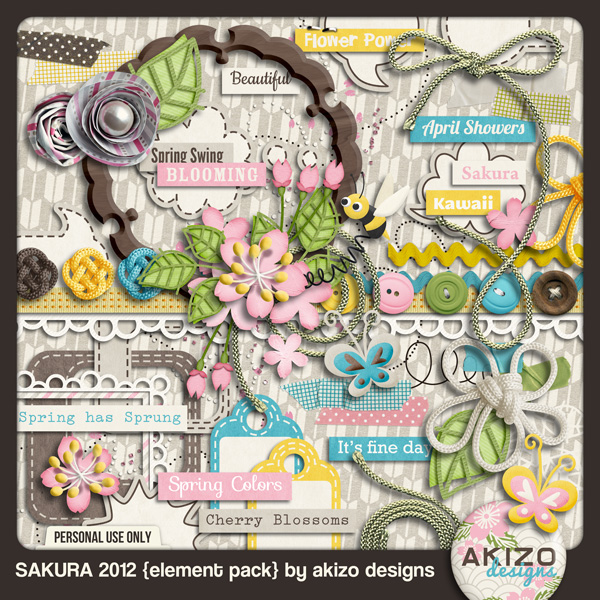 Sakura 2012 Element Pack
